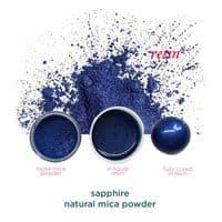 Natural Mica Powder - Sapphire